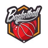 Logo di pallacanestro, logo americano royalty illustrazione gratis
