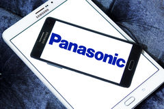 Logo di Panasonic Immagine Stock