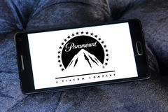 Logo di Paramount Pictures Fotografia Stock