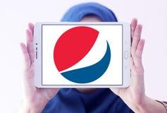 Logo di Pepsi Fotografie Stock Libere da Diritti