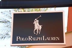 Logo di Polo Ralph Lauren Fotografia Stock Libera da Diritti