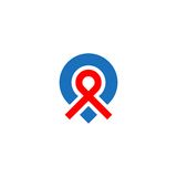Logo di posizione di Pin Fotografie Stock Libere da Diritti