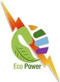 Logo di potere della mano Fotografia Stock Libera da Diritti