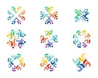 Logo di progettazione Fotografie Stock Libere da Diritti