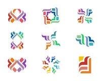 Logo di progettazione Fotografie Stock