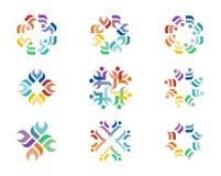 Logo di progettazione Immagine Stock