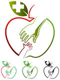 Logo di puericultura Immagini Stock