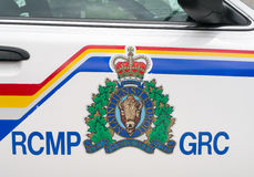 Logo di RCMP Fotografia Stock
