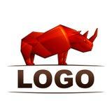 Logo di rinoceronte royalty illustrazione gratis