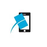 Logo di riparazione dello schermo Fotografia Stock