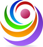 Logo di rotazione royalty illustrazione gratis