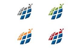 Logo di salute dello schermo illustrazione di stock