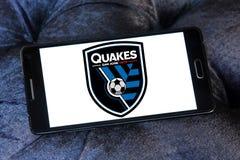 Logo di San Jose Earthquakes Soccer Club fotografia stock