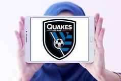 Logo di San Jose Earthquakes Soccer Club fotografia stock libera da diritti