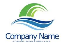 Logo di sciabordii Immagini Stock