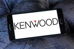 Logo di società di Kenwood Fotografia Stock Libera da Diritti