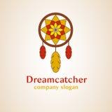 Logo di sogno del collettore Fotografia Stock