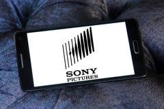 Logo di Sony Pictures Fotografie Stock Libere da Diritti