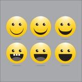 Logo di sorriso Immagini Stock