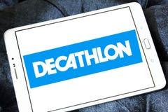 Logo di sport del rivenditore delle merci di decatlon Fotografia Stock