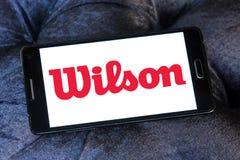 Logo di sport delle merci di Wilson Fotografie Stock Libere da Diritti