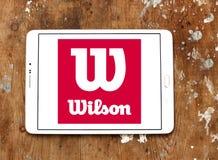 Logo di sport delle merci di Wilson Fotografie Stock