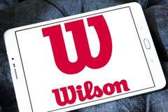 Logo di sport delle merci di Wilson Fotografia Stock Libera da Diritti