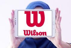 Logo di sport delle merci di Wilson Immagine Stock