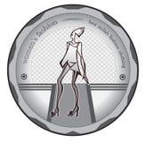 Logo di stile Immagini Stock Libere da Diritti