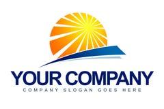 Logo di Sun Fotografia Stock Libera da Diritti