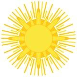 Logo di Sun Immagini Stock Libere da Diritti