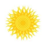 Logo di Sun Immagini Stock