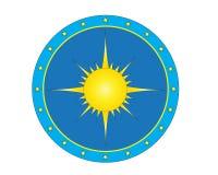 Logo di Sun Fotografie Stock Libere da Diritti