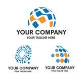Logo di tecnologia Immagini Stock Libere da Diritti