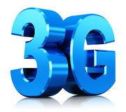 logo di tecnologia wireless 3G Immagini Stock