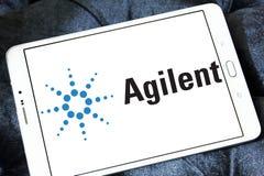 Logo di tecnologie di Agilent Fotografie Stock Libere da Diritti