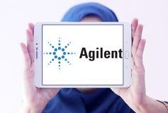 Logo di tecnologie di Agilent Immagine Stock Libera da Diritti