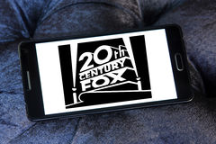 Logo di 20th Century Fox Fotografia Stock