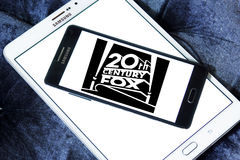 Logo di 20th Century Fox Immagine Stock