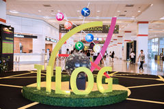Logo di TILOG Immagine Stock