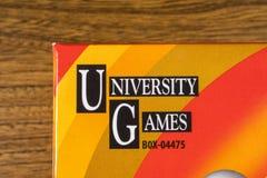 Logo di University Games Corporation Fotografia Stock Libera da Diritti