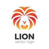 Logo di vettore del leone Fotografia Stock Libera da Diritti