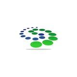 Logo di vettore della pietra della lettera s Immagine Stock