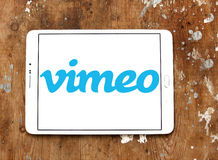Logo di Vimeo Fotografia Stock