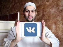 Logo di VK Immagine Stock