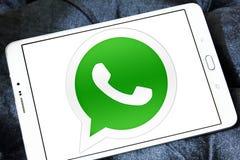 Logo di Whatsapp Fotografie Stock Libere da Diritti