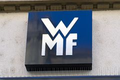 Logo di WMF immagine stock libera da diritti