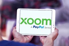 Logo di Xoom Corporation Fotografie Stock