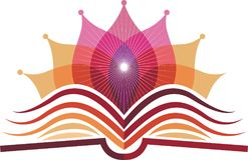 Logo di yoga del libro illustrazione vettoriale