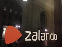 Logo di Zalando Fotografia Stock